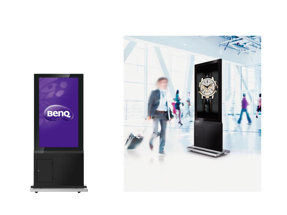 Neue Double-sided Stele DH551C (Fotos: BenQ)