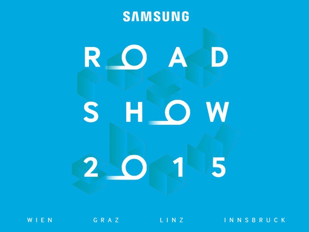 Save the date - Samsung Roadshow Österreich 2015 (Bild: Samsung)