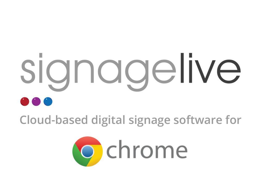 Signagelive für Chrome (Grafik: Signagelive)