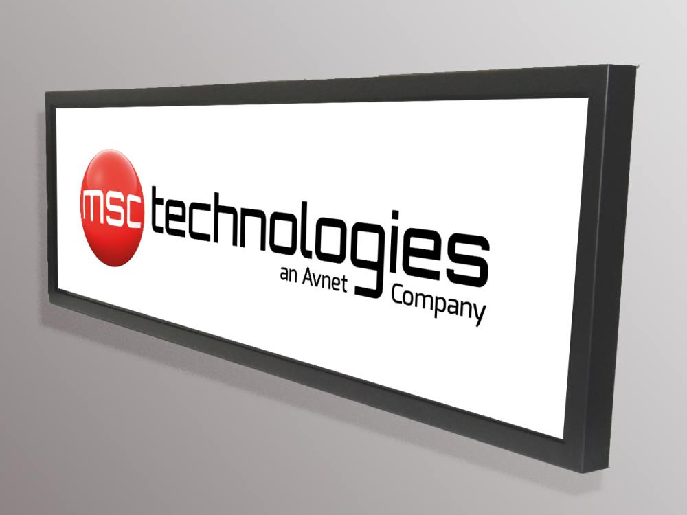 Stretched Display ML3849LE40N (Foto: MSC Technologies)