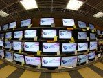 TVs als Video Wall-Screens in einem RTV Euro AGD (Foto: idooh.tv)