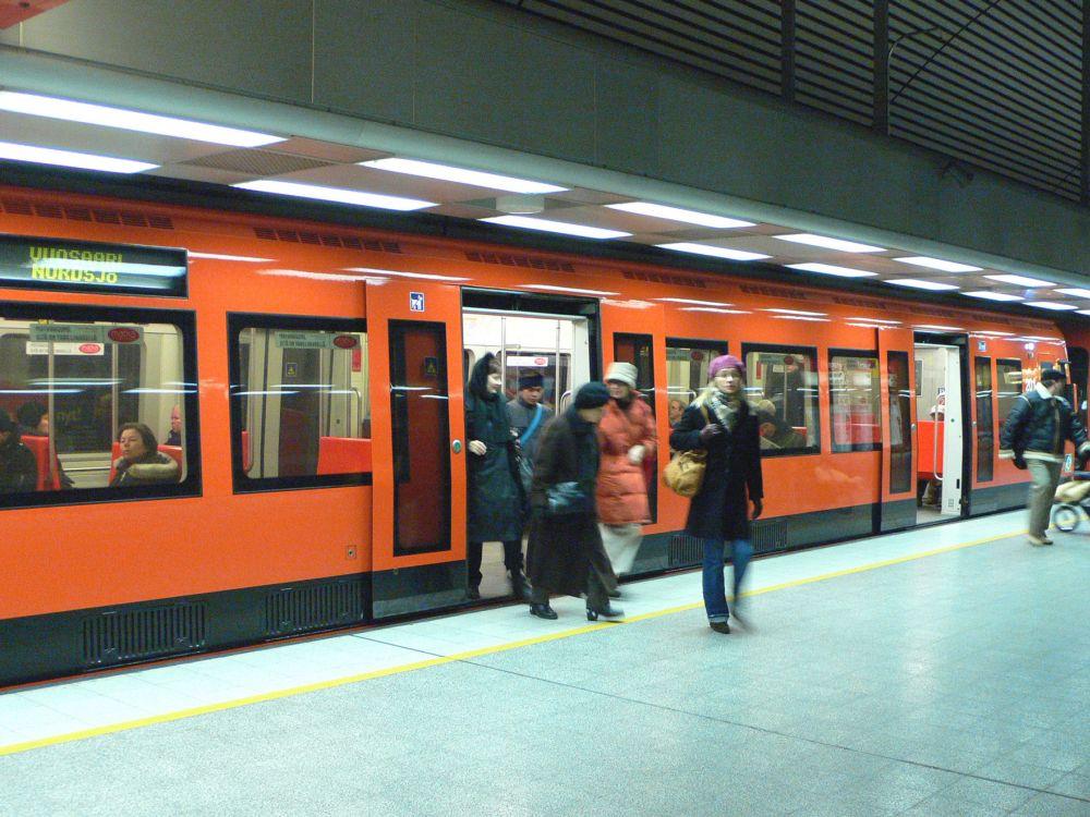 U-Bahn in Helsinki (Foto: Siemens)