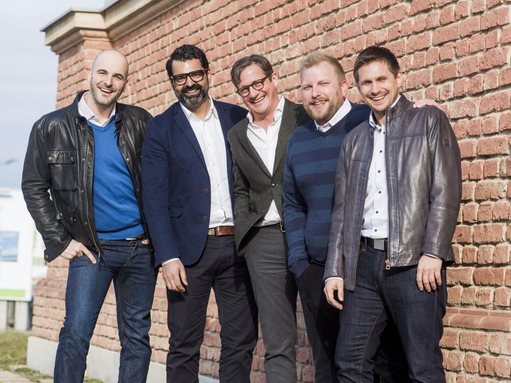 Neuer VAMP-Vorstand (v.l.n.r.): Philipp Hengl (Gewista), Markus Rauer (Mara Media), Gerhard Huber (Easystaff), Ernst Buchinger (Freecard) und Horst Brunner (Goldbach Media) (Foto: S. Joham)