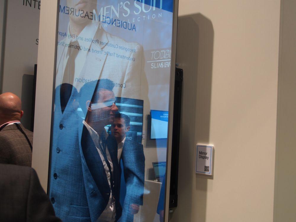 Wird auch auf der CeBIT gezeigt: Mirror Display von Samsung (Foto: invidis)