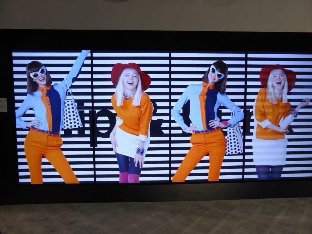 LG Digital Signage Fashion Content (Photo: invidis)