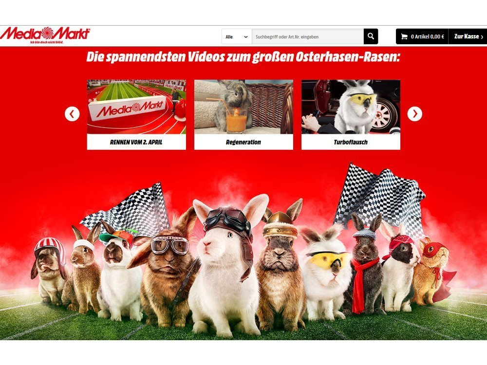 Media Markt Hasen Rasen Ergebnisse (Screenshot)