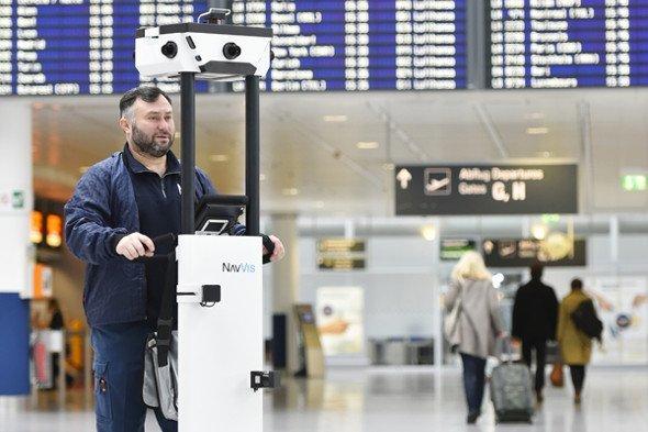 Flughafen München digitalisiert den Flughafen für Way Guiding (Foto: Flughafen Müchen)