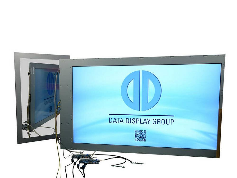 AUO double sided Modell P550HVN04.2 als Kit (Foto: Data Display Group)