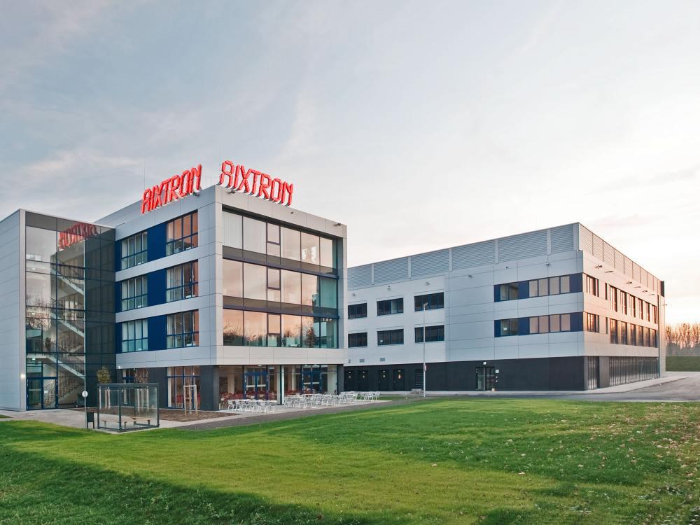 Aixtron-Forschungszentrum in Herzogenrath (Foto: Aixtron)