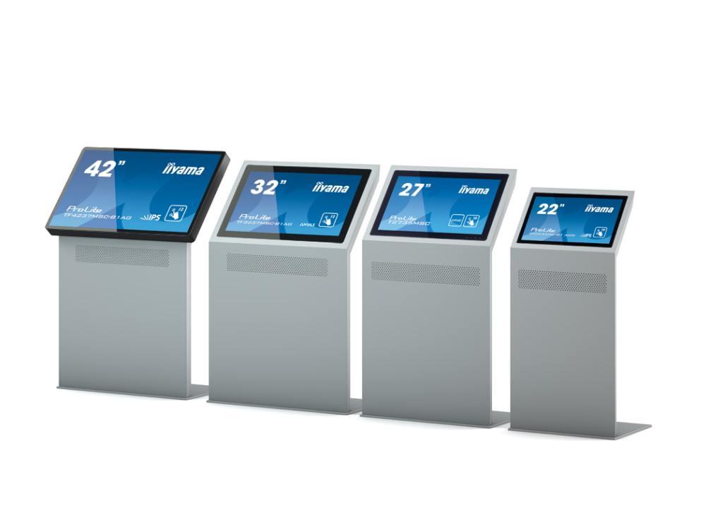 Bald werden es sechs sein - vier Modelle aus der Displaypult No.2-Serie (Foto: Werkstation)
