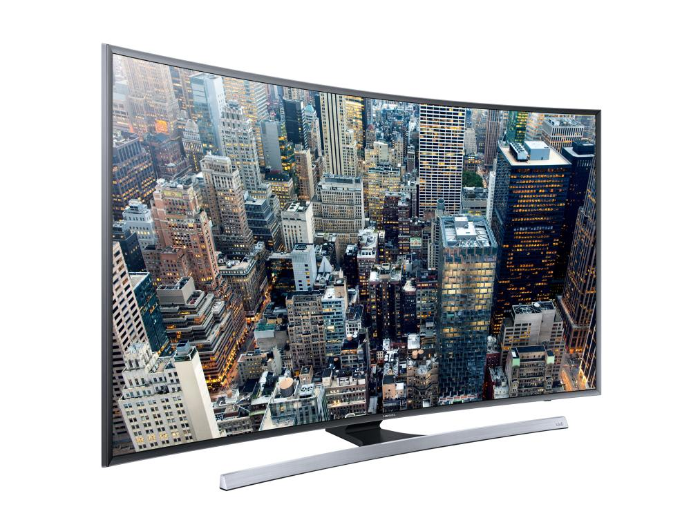 Curved UHD-TV JU7590 (Foto: Samsung)