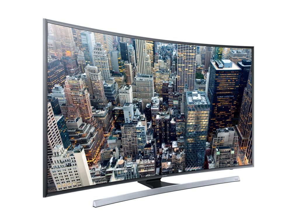 Curved UHD-TV JU7590 (Foto: Samsung)