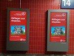 DooH-Kampagne von Visit Denmark und Air Berlin (Foto: invidis)