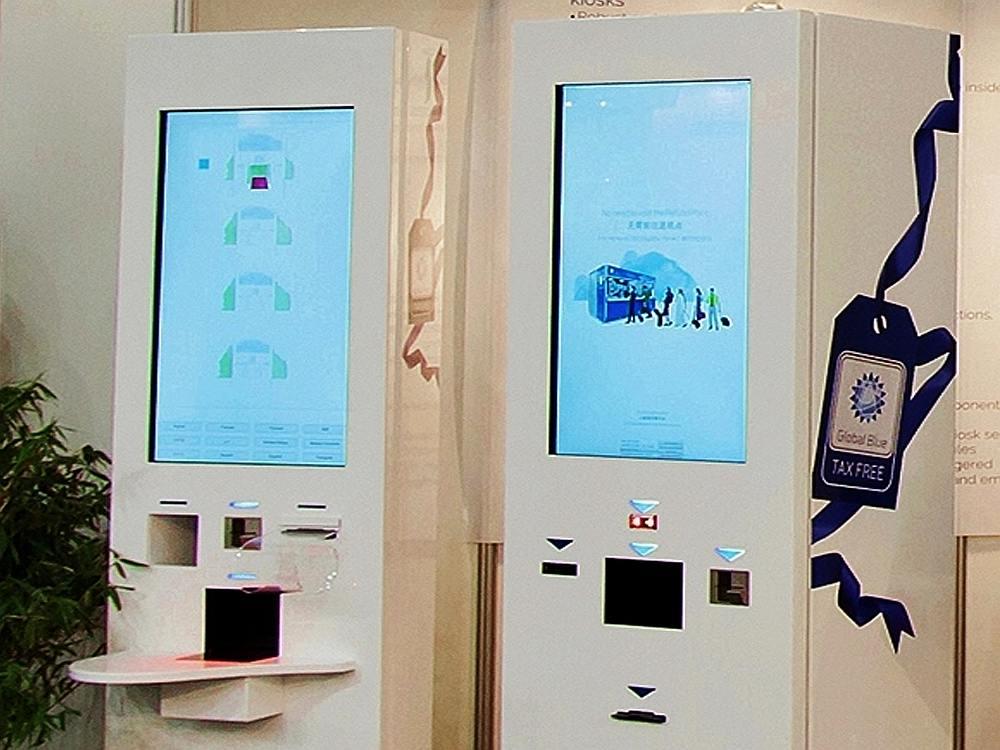 Global Blue Kiosk (Foto: Kiosk Solutions)