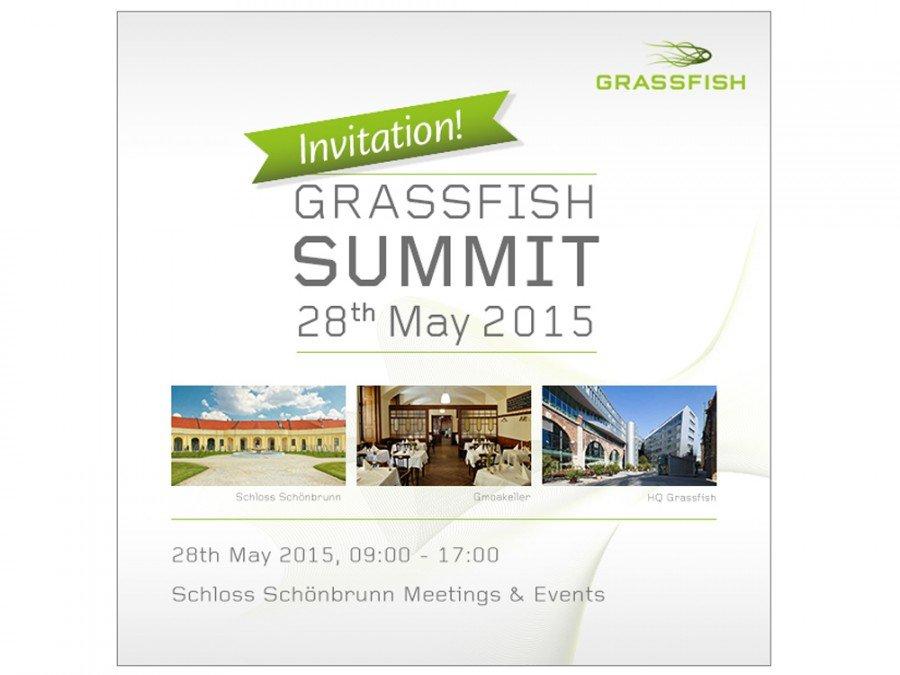 Save the Date - Grassfish Summit 2015 in Wien (Bild: Grassfish)