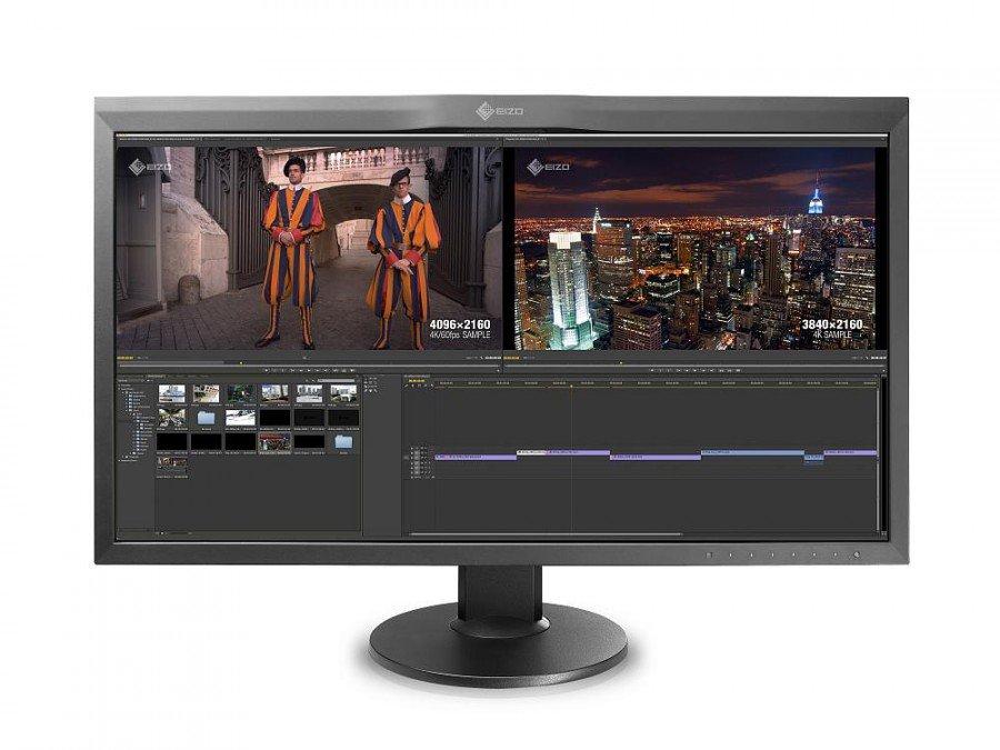 Neuer Profi-Monitor CG318-4K (Foto: Eizo)