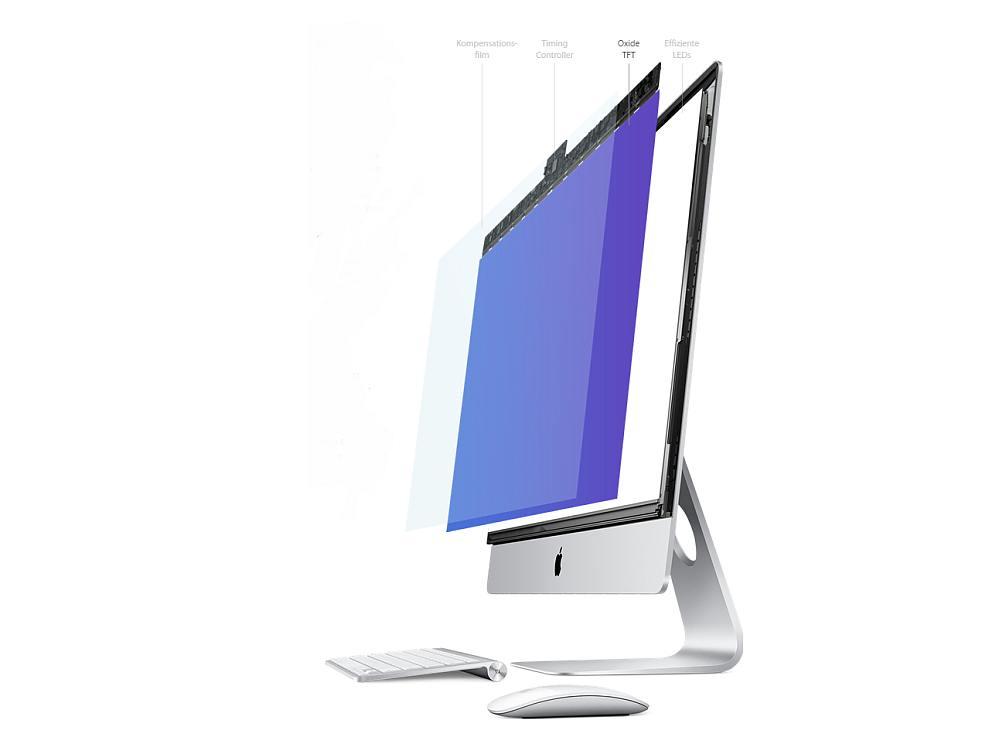 OxideTFT-Display des iMac Retina (Screenshot: invidis)