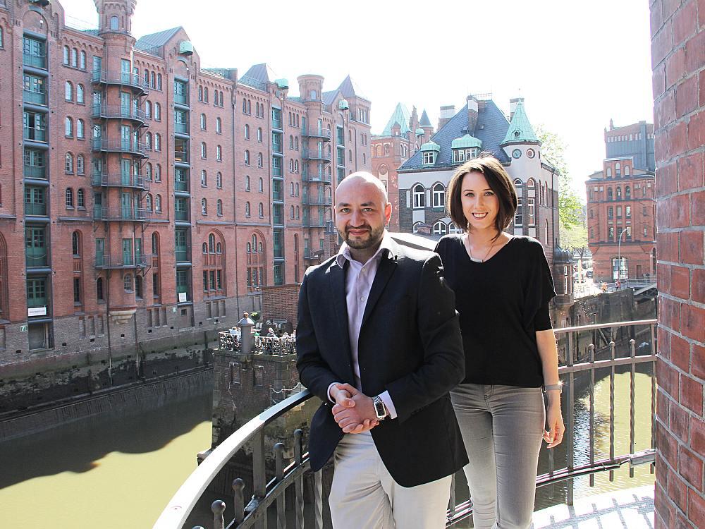 Roman Kascha und Nadine Hentig verstärken das Team (Foto: komma,tec redaction)