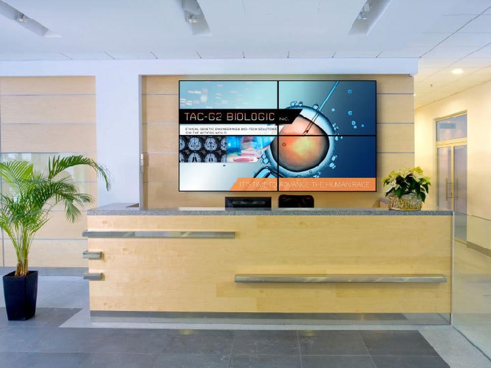Video Wall-Displays der RA-Serie (Foto: Planar)
