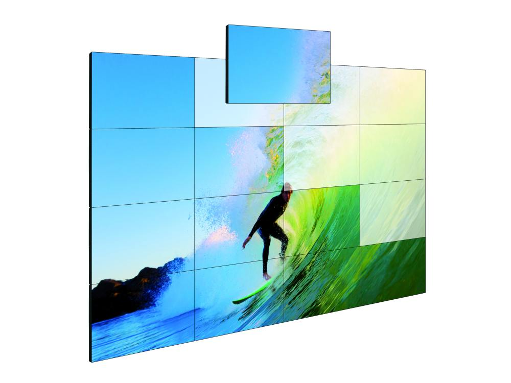 Video Wall LCD-Screens von eyevis (Foto: eyevis)