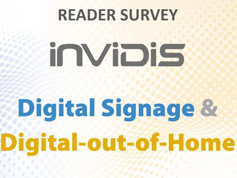 Take part in the invidis reader survey 2015 (Grafic: invidis)