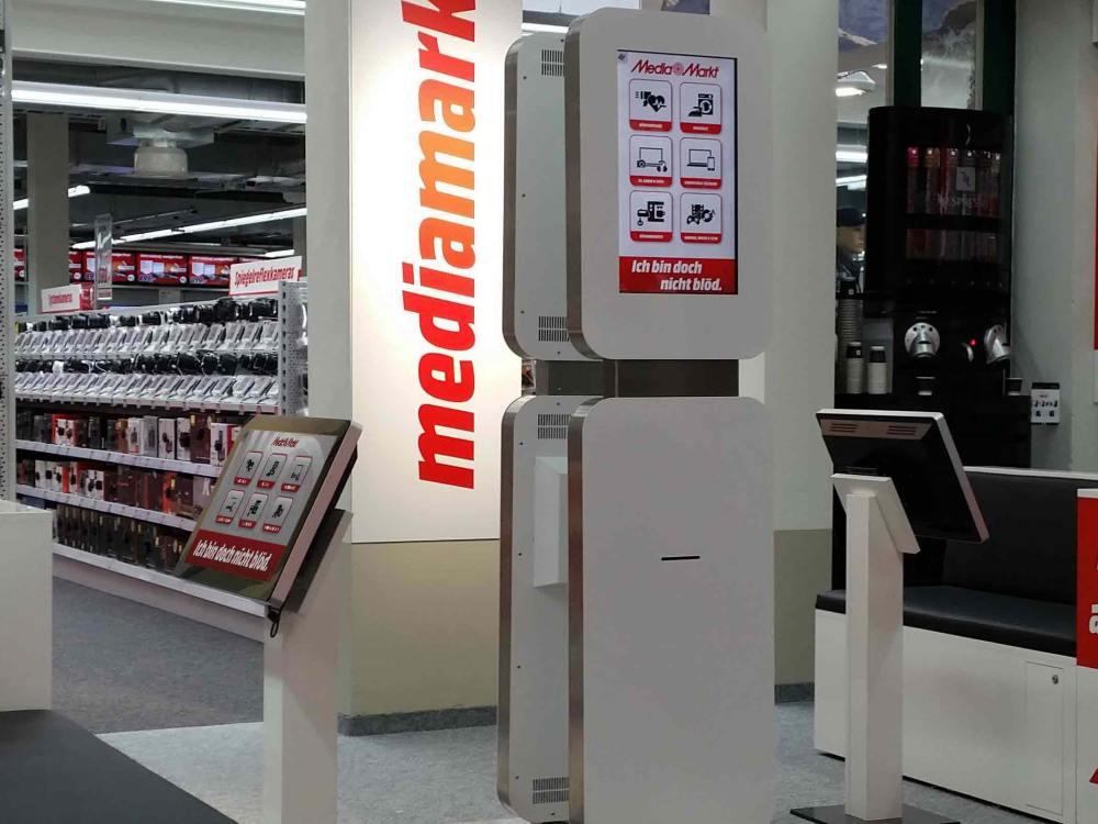 xplace-Terminal bei Media Markt in Bern (Foto: xplace)