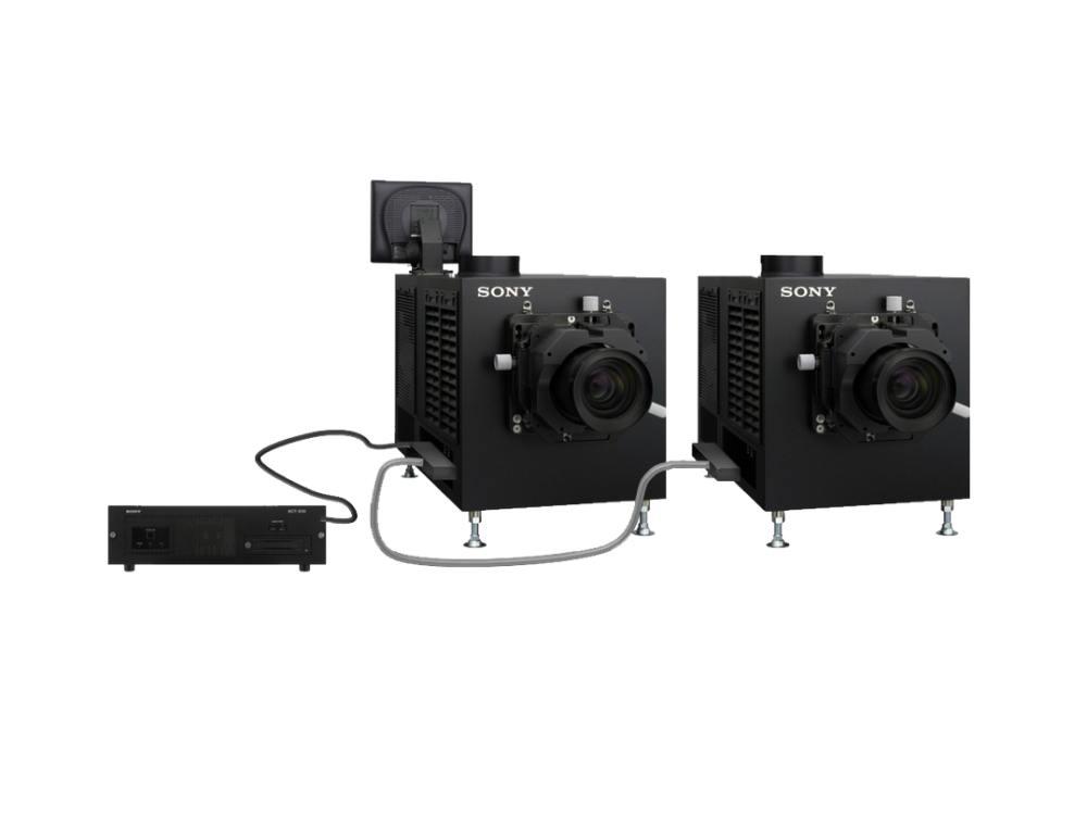 4K Doppel-Projektionssystem SRX-R515DS (Foto: Sony)