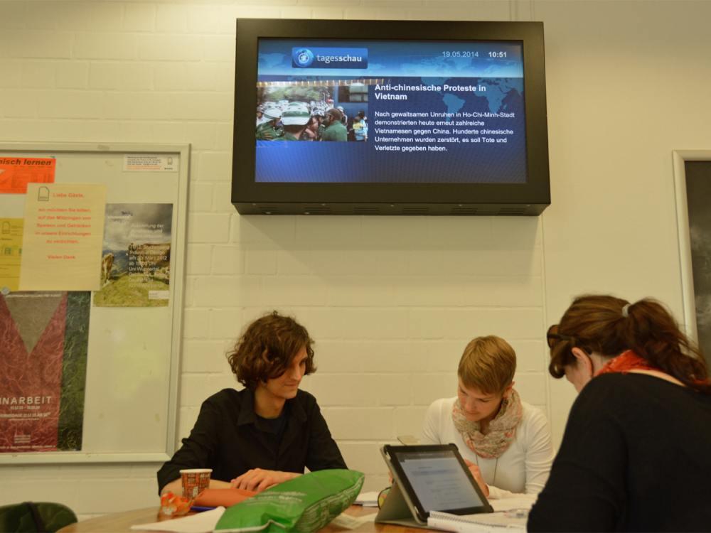 Content-Partner wie ARD und WDR liefern relevante News (Foto: dimedis)