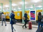 DCLP im U-Bahnhof Alexanderplatz (Foto: Wall AG)