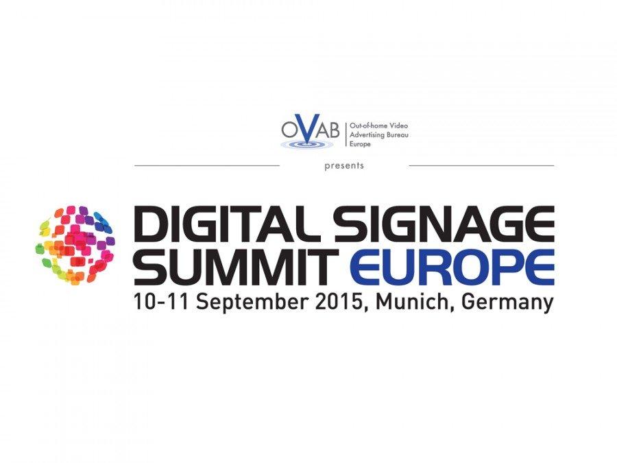 Digital Signage Summit Eurooe am 10,/11. Septmeber 2015 in München (Bild: invidis)