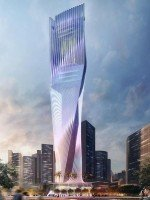 Hoch hinaus mit LED: Innovation Tower (Rendering: SHoP Architects)