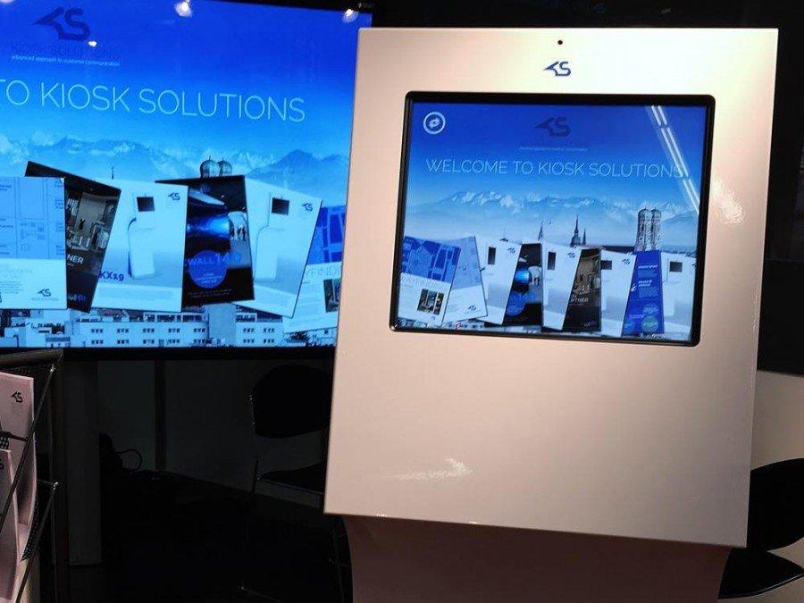 Neues Kiosk Solutions-Modell KI19 (Foto: Kiosk Solutions)