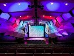 LED Screen im Auditorium (Foto: Telstra)