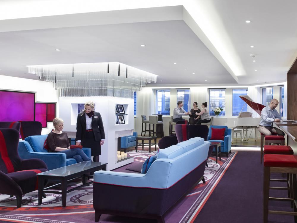 London Lounge von Virgin Money (Foto: Virgin Money)