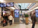 Mall Video-Channel- Screens und Stelen in der ECE Mall MILANEO (Foto: MILANEO)