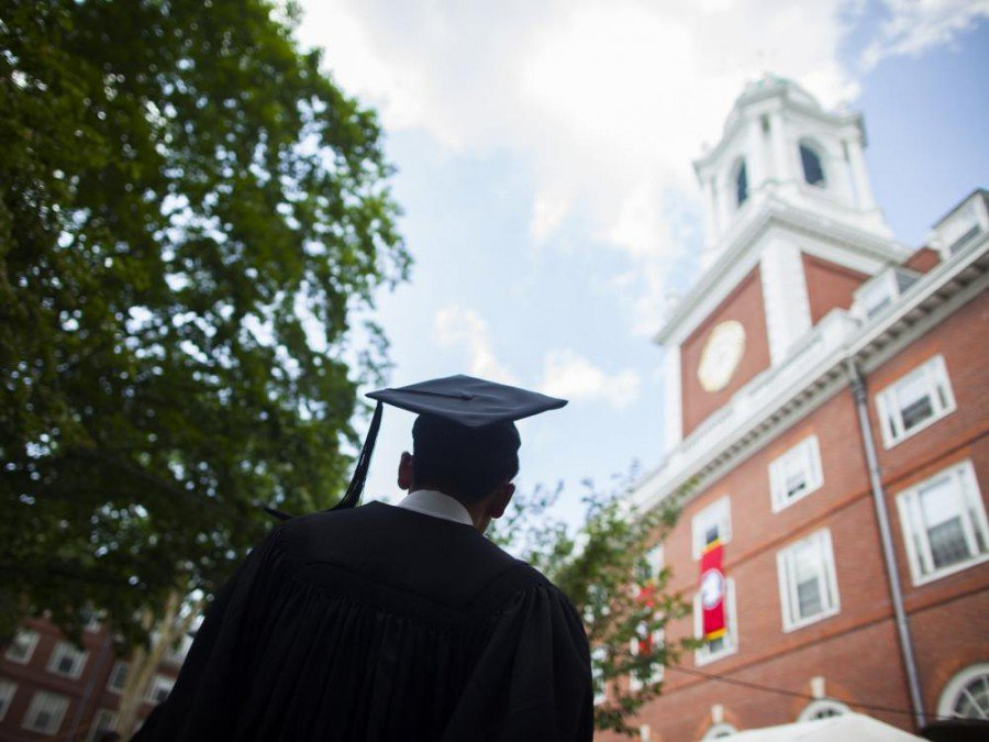 US-Student in Harvard (Foto: Stephanie Mitchell/ Harvard University)
