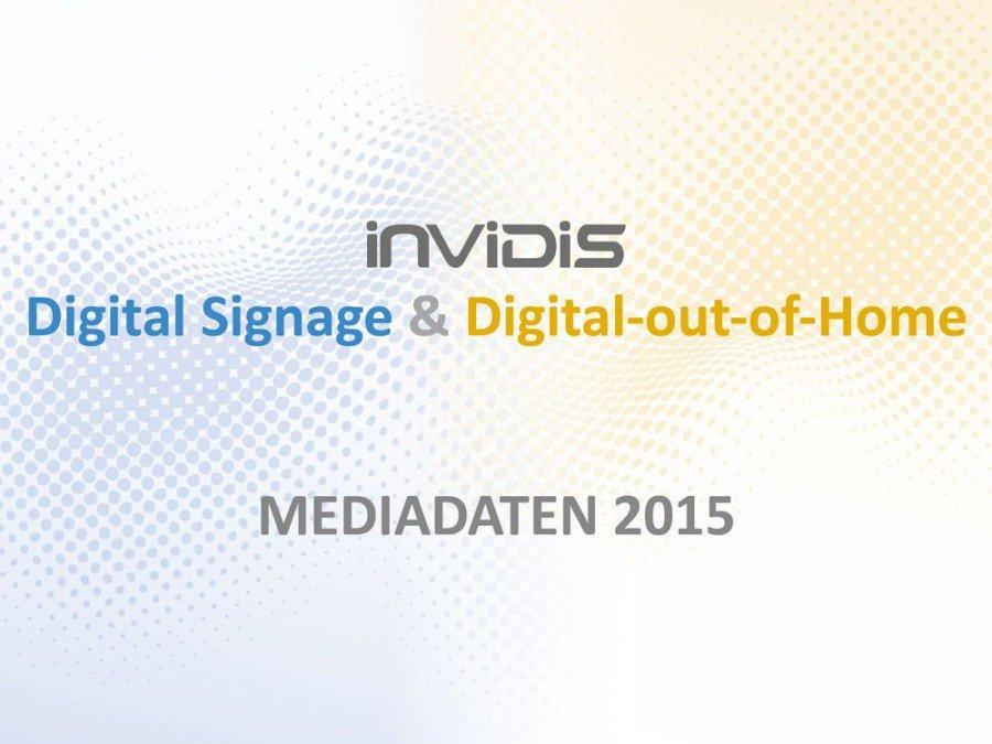 Die neuen invidis Mediadaten sind online.