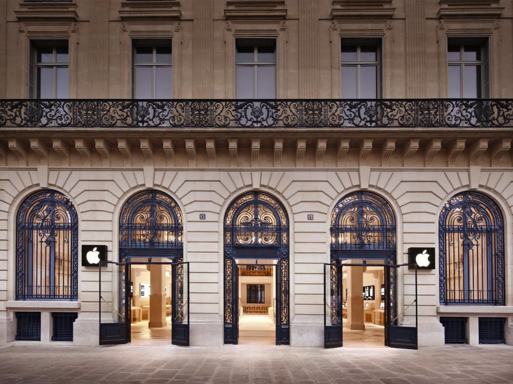 An der Adresse Opéra - Apple Store in Paris (Foto: Apple)