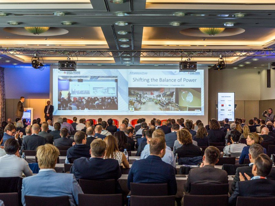 Call for Papers für den Digital Signage Summit Europe 2016 (Bild: invidis)
