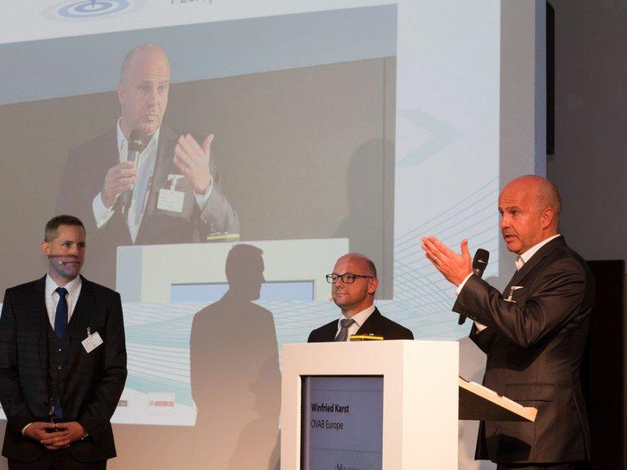 Winfried Karst, Goldbach Germany, auf der letztjährigen Konferenz (Bild: Anna Olivia Weimer)