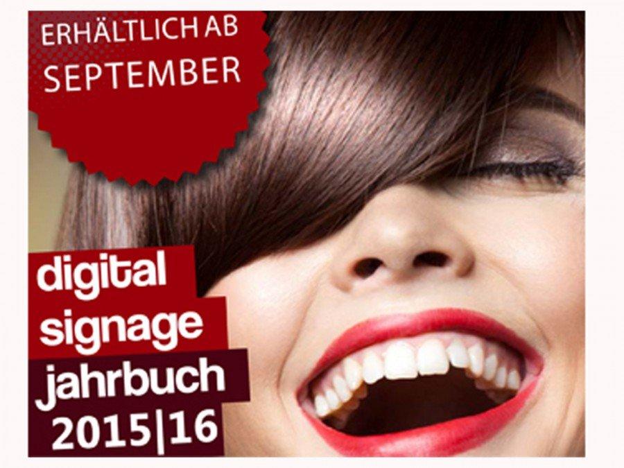 "Das neue ""invidis Digital Signage Jahrbuch"" ist ab September 2015 erhältlich (Bild: invidis)"