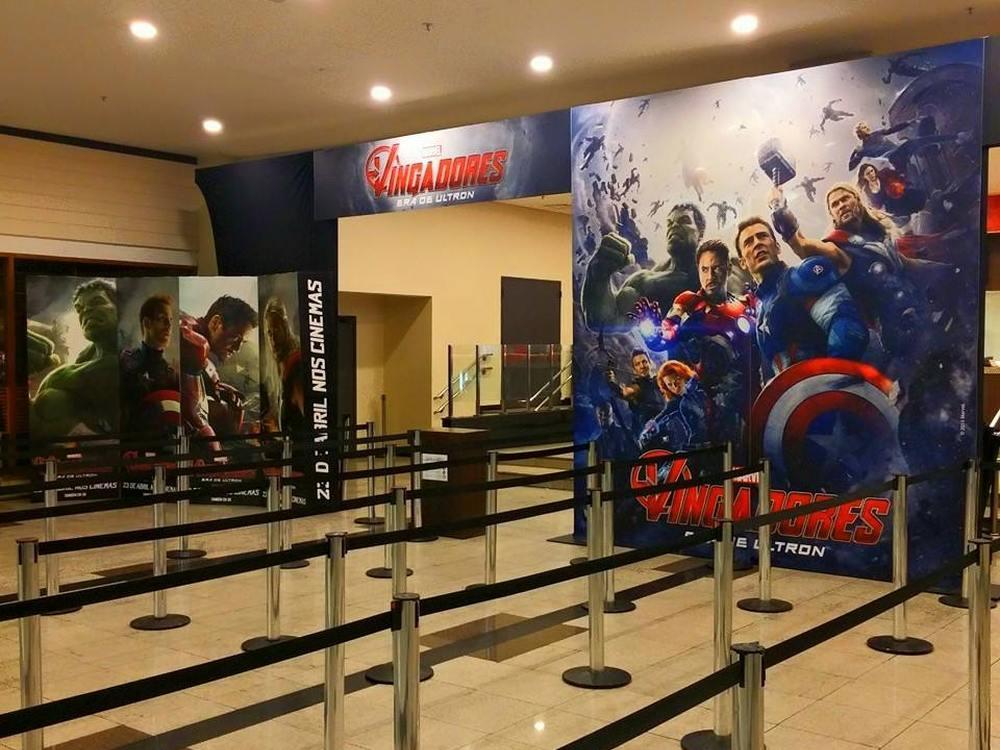 Im Innern eines brasilianischen Cinemark-Kinos (Foto: Cinemark Brasil)