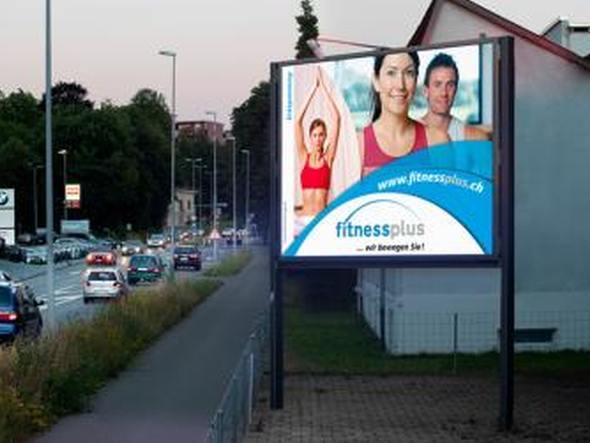 LED Screen der Spot Werbe AG (Foto: Onelan)