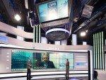 Neues Sport-Studio von OTE TV (Foto: eyevis)
