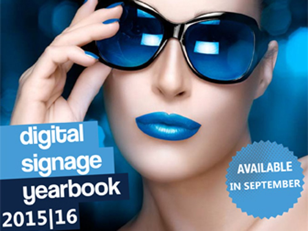 "The ""invidis digital signage yearbook 2015/16"" will be available in September (Image: invidis)"