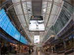 Airport München - Werbung am T1 (Foto: Flughafen München)