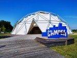 Außenansicht des Camper Pop up (Foto: Vitra)