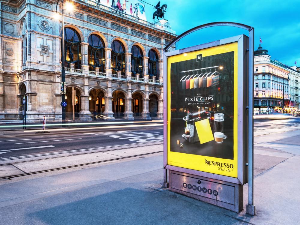 Außenwerbekampagne in Wien - Symbolbild (Foto: Gewista)