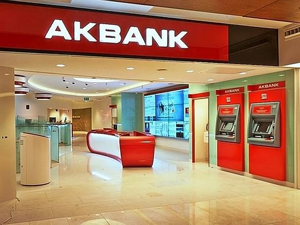 Blick in eine Filiale der Akbank (Foto: Akbank)