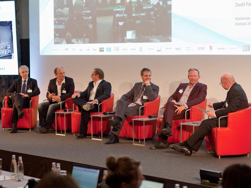 Worldwide Industry Outlook-Panel auf der letztjährigen Konferenz (Bild: Anna Olivia Weimer)